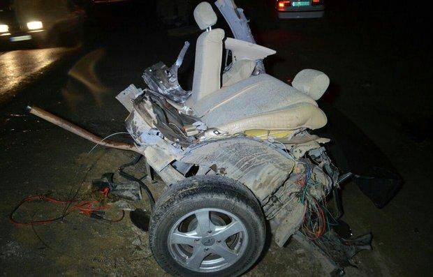 تصادف عجیب خودرو MVM در مشهد | هفت صبح
