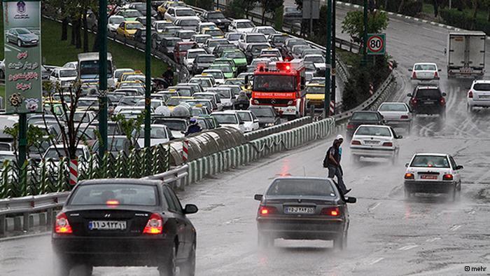 احتمال بارش باران در تهران و ۱۶ استان دیگر