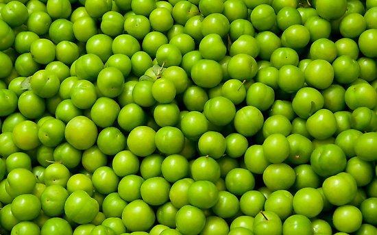 گوجه سبز به بازار آمد