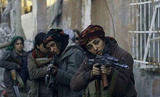 گلشیفته فراهانی در نقش دختر مبارز علیه داعش