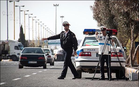 عیدی پلیس به رانندههای متخلف و خودروهای بدهکار