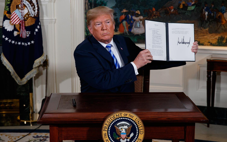 ترامپ: توافق هستهای ایران یک دروغ بزرگ بود