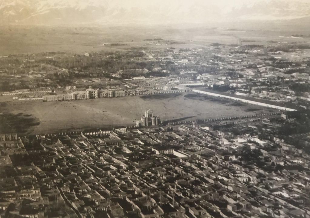 عکسی از تهران ۹۰ سال پیش