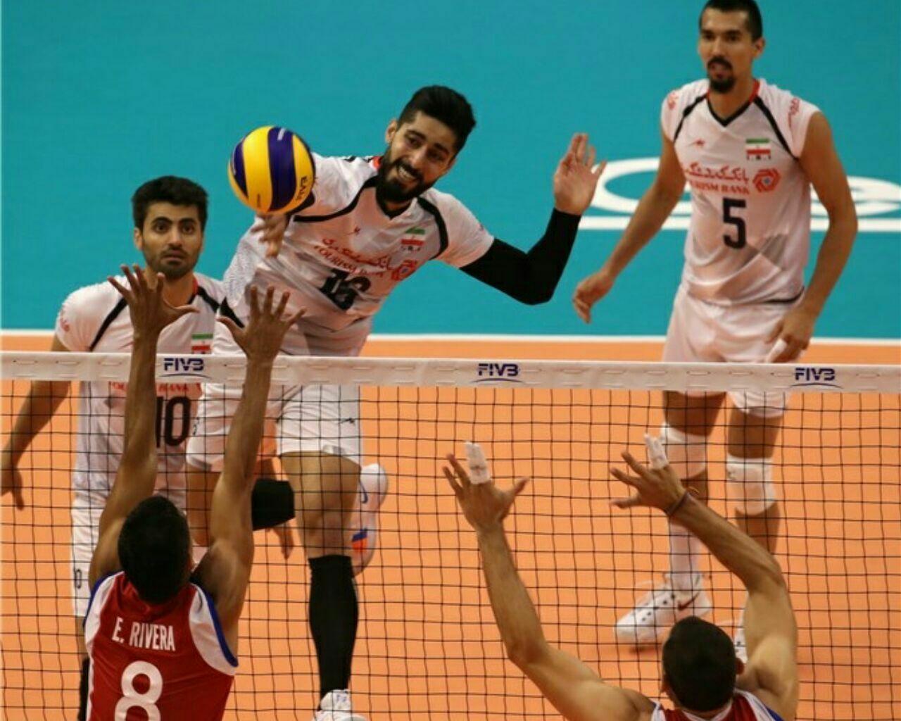 والیبال قهرمانی جهان؛ ایران ۳-۰ پورتوریکو؛ شروع مقتدرانه شاگردان کولاکوویچ