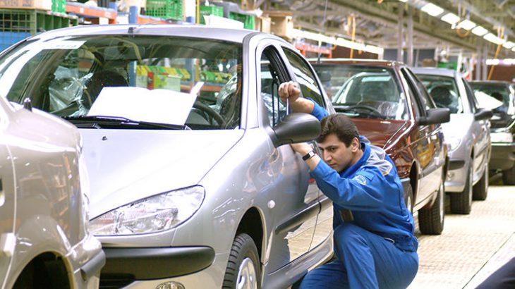 تولید خودرو در شهریور نصف شد