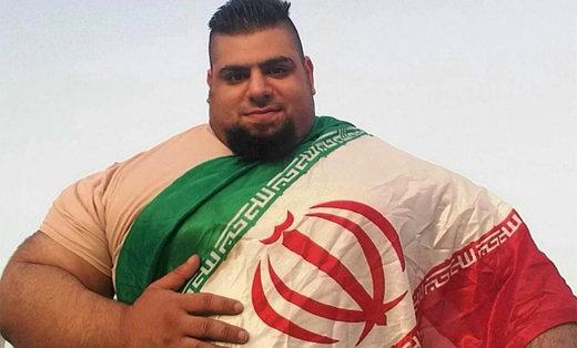 مبارزه هالک ایرانی با ترسناکترین مرد جهان / عکس