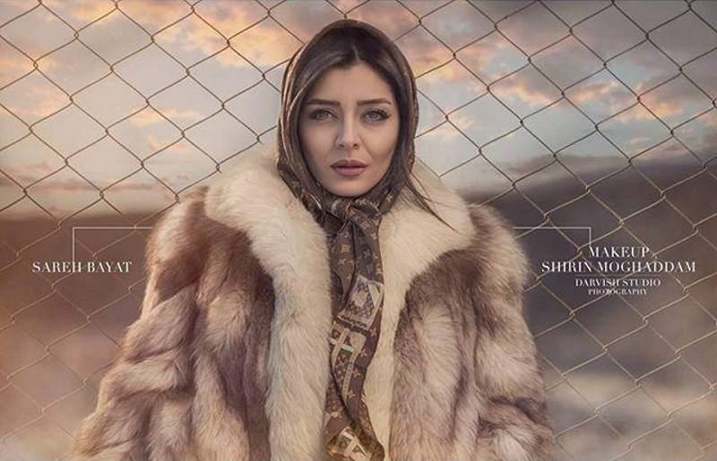 جنجال تازه فضای مجازی؛ بازیگر ایرانی در پوست روباه