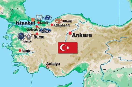 دلایل مشابه سقوط صنعت خودرو ایران و ترکیه