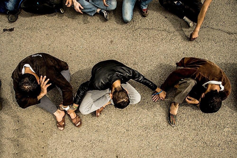 زورگیری خشن از ۲۰ شهروند با سلاح سرد