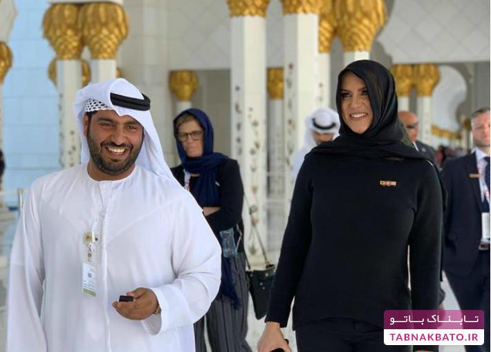 معروف ترین کشتی گیر زن دنیا حجاب پوشید!
