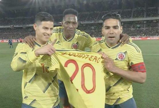 نخستین پیروزی کیروش با کلمبیا مقابل ژاپن