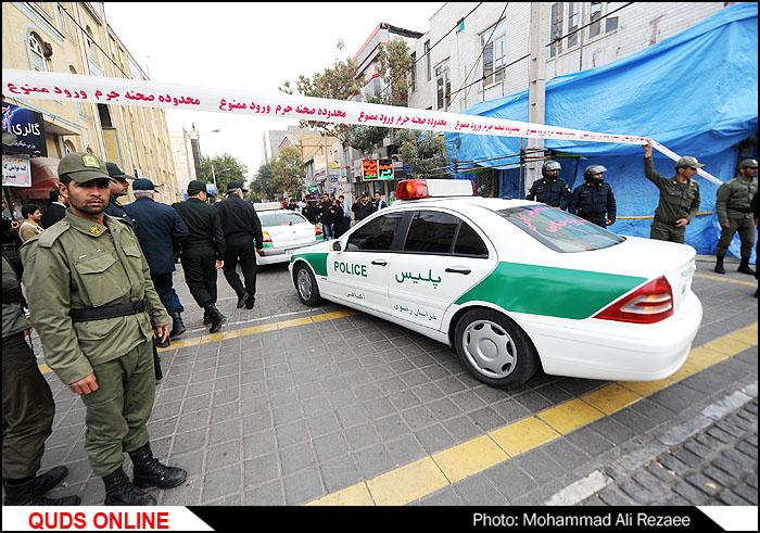 شهادت دو مامور نیروی انتظامی در مشهد