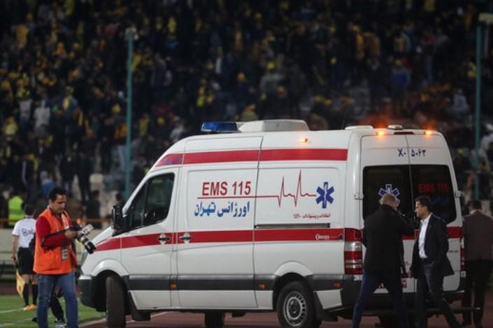 دلیل فوت هوادار فوتبال در بازی پرسپولیس – سپاهان مشخص شد