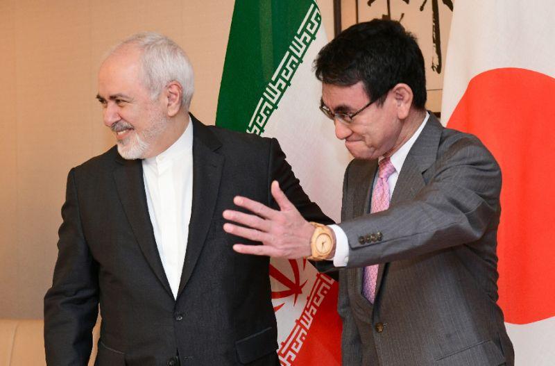 توصیه وزیر خارجه ژاپن به ایران ؛ لطفا «خویشتنداری» کنید