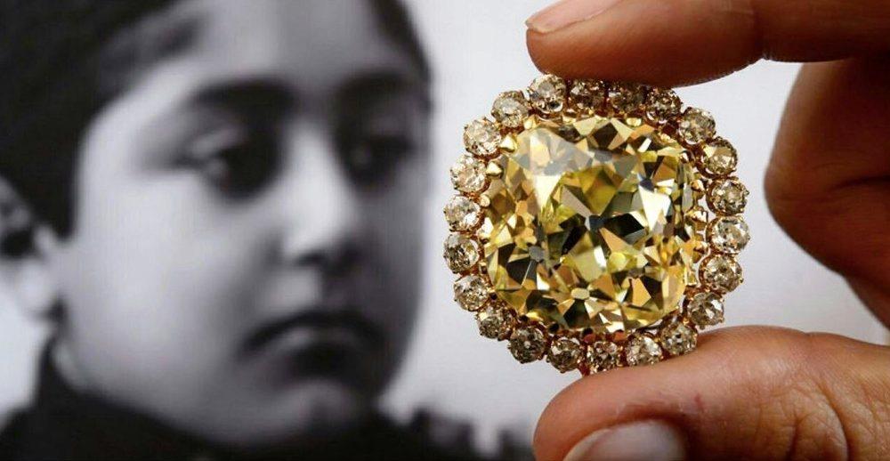عکس | حراج الماس زرد احمدشاه قاجار