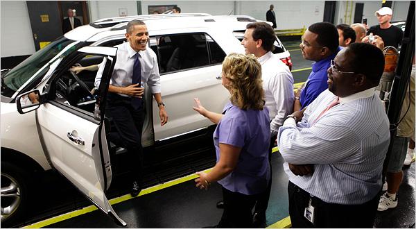 اوباما برای بازسازی خودروسازان ورشکسته آمریکایی چه کرد؟