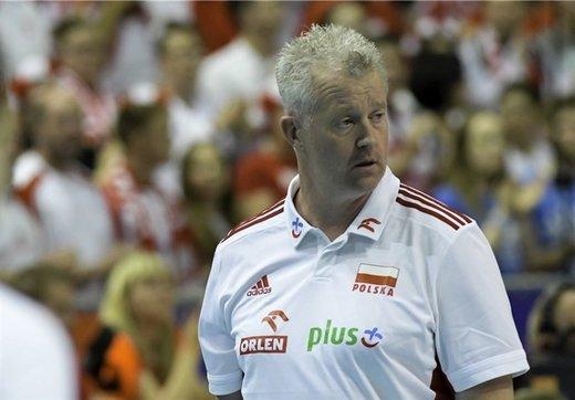 واکنش سرمربی تیم ملی والیبال لهستان به اظهارات کوبیاک