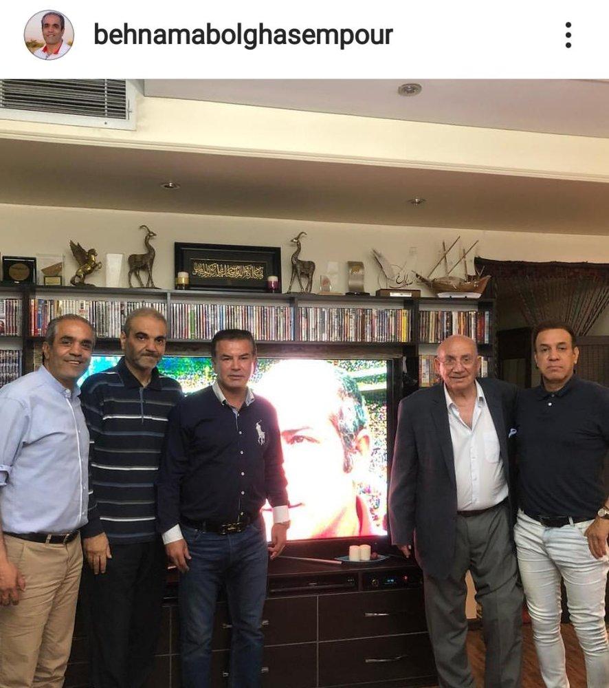 جدیدترین تصویر از جواد خیابانی، لاغرتر از حمید استیلی و حتی بهنام ابوالقاسمپور