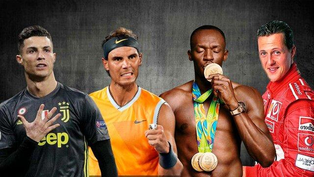 ابر قهرمانان جهان ورزش