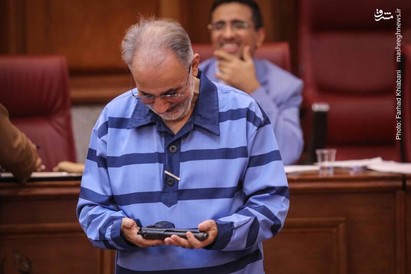 علت خنده نجفی در دادگاه مشخص شد