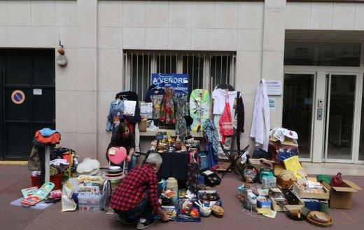 هزینه پهن کردن بساط دستفروشی در تهران