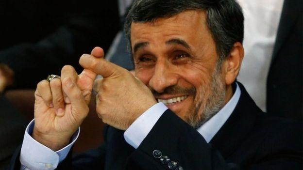 ترامپ، احمدینژاد را در توئیتر فالو کرده ؟