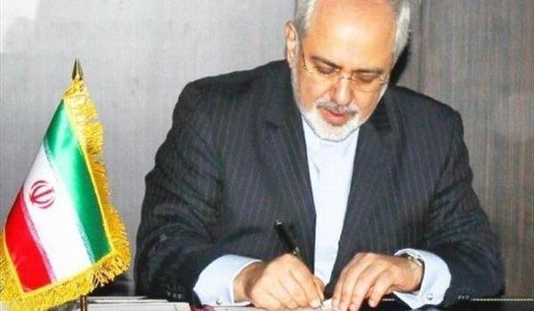 یادداشت ظریف در گلوبالتایمز و تاکید بر حراست ایران و چین