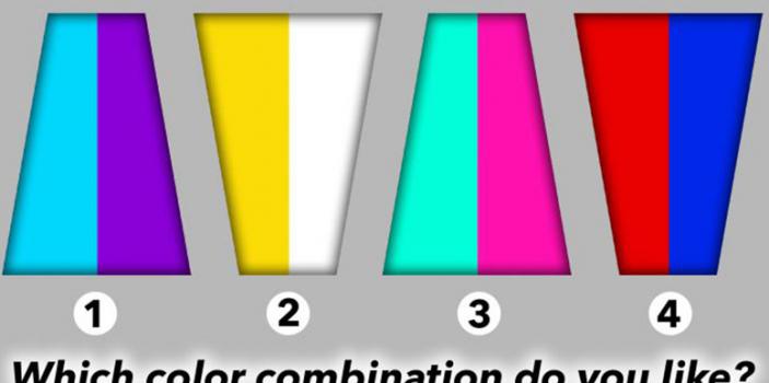 تست روانشناسی: کدام ترکیب رنگی را انتخاب میکنید؟