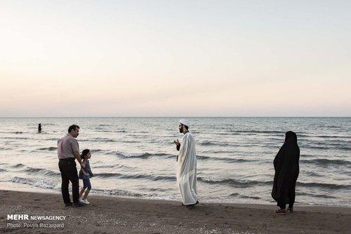 روحانیون در سواحل گیلان