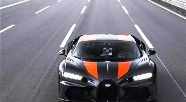 رکورد سریعترین خودروی جهان شکسته شد