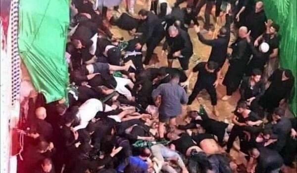 شهادت ۱۶ نفر و مجروحیت ۷۵ نفر در جریان یک حادثه در کربلا