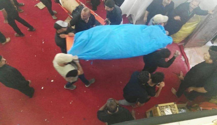 فوت یک زائر ایرانی در حادثه روز گذشته کربلا