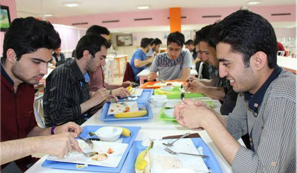 نرخ غذای دانشجویان اعلام شد