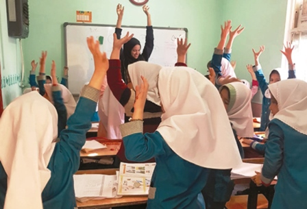 معضل کتاب در مدرسه مهاجران