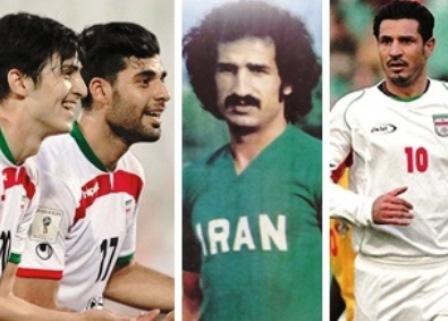 تبارشناسی فوتبالیستهای ایرانی از دهه ۵۰ تا امروز