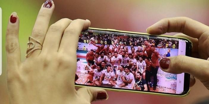 تصویر متفاوت از قهرمانی والیبال