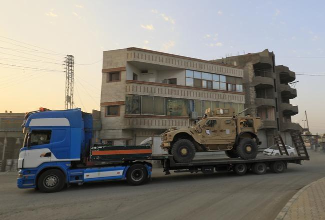آمریکا چند کامیون سلاح برای کردهای سوریه فرستاد