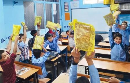 بازگشت کتاب به مدرسه مهاجران