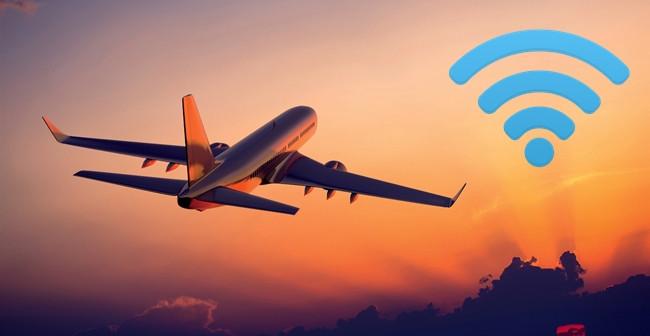 اینترنت حین پرواز