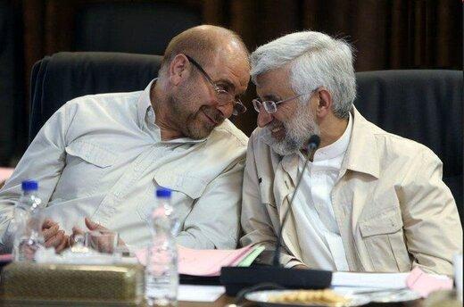 رویارویی انتخاباتی جلیلی و قالیباف