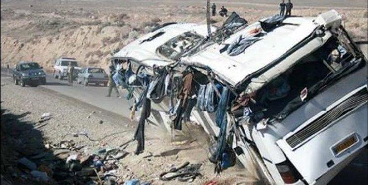 تصادف مرگبار در جاده یزد-مشهد با چهار کشته