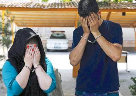 طعمه قرار دادن زن جوان برای سرقت از رانندگان خودروهای لوکس