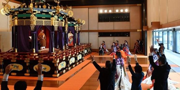 تماشا کنید؛ مراسم تاجگذاری امپراتور جدید ژاپن