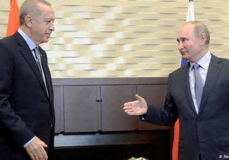 توافق ۱۰ مادهای اردوغان و پوتین برسر سوریه
