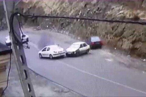 مقصر تصادفهای عجیب و غریب جاده چالوس پیدا شد
