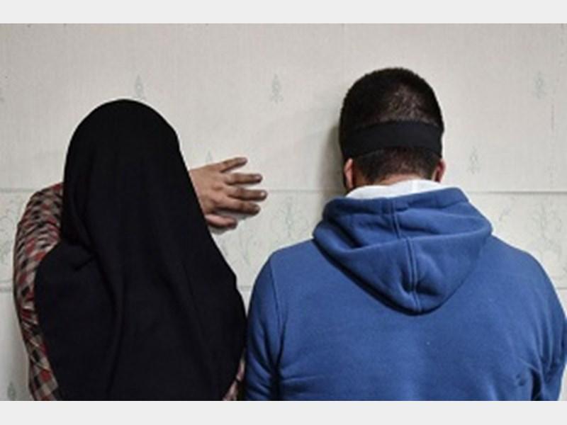 دستگیری زن و مرد موبایل قاپ در تهران