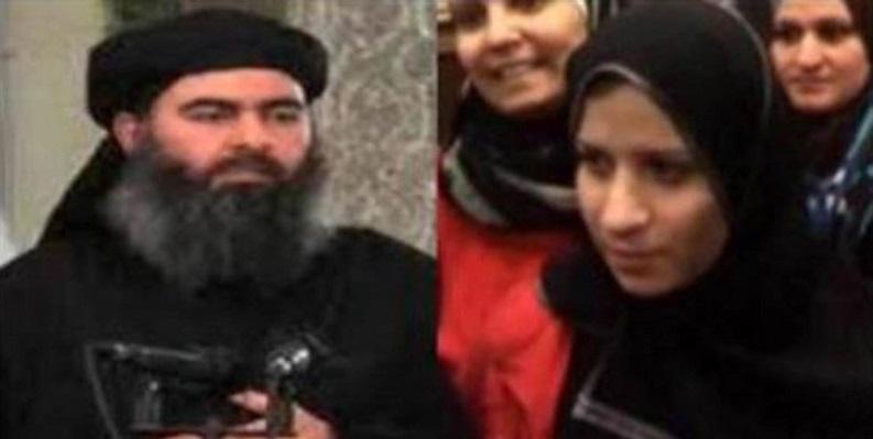 همسر ابوبکر البغدادی بازداشت شد