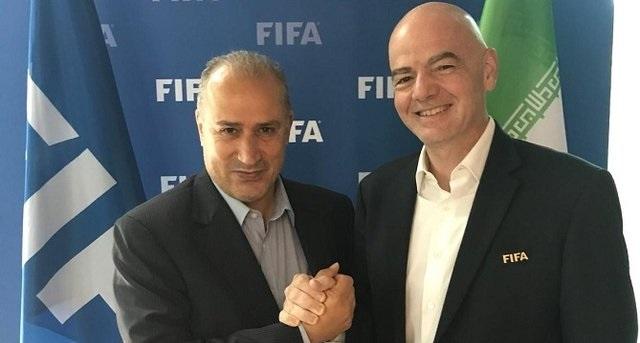 رئیس فیفا در راه ایران؟