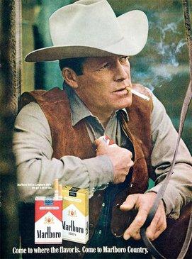 درگذشت مرد اول تبلیغات سیگار مارلبرو