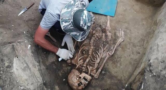 کشف بقایای یک زن باستانی در کنار جواهرات رومی